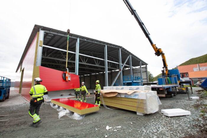 Bygging av resirkuleringsanlegg (RAS-anlegg)