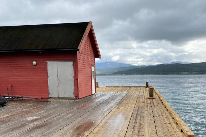 Ny kai ved Senter for marin akvakultur